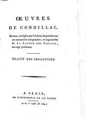 Oeuvres de Condillac: Volume 3