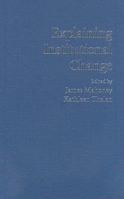 Download Explaining Institutional Change Book