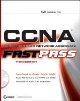 CCNA  Cisco Certified Network Associate PDF