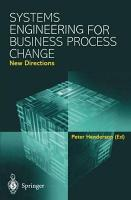 Systems Engineering for Business Process Change  New Directions PDF