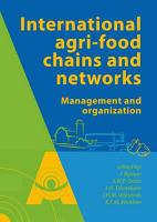 International agrifood chains and networks PDF