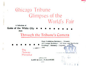 Chicago Tribune Glimpses of the World s Fair PDF