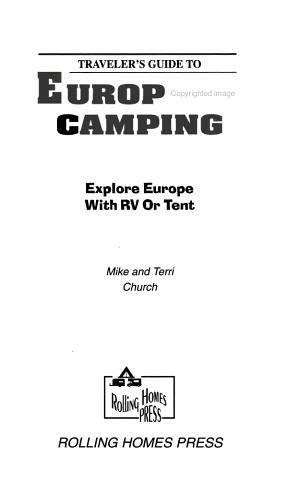 Traveler s Guide to European Camping PDF