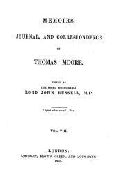 Memoirs, Journal, and Correspondence: Volume 8