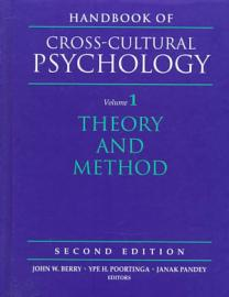 Handbook Of Cross Cultural Psychology  Theory And Method