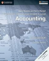 Cambridge International AS and A Level Accounting Coursebook PDF