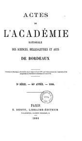 Académie royale des sciences, belles-lettres et arts de Bordeaux: séance publique