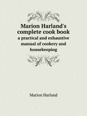 Marion Harland's complete cook book