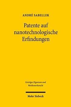 Patente auf nanotechnologische Erfindungen PDF