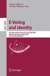 E Voting And Identity Book PDF