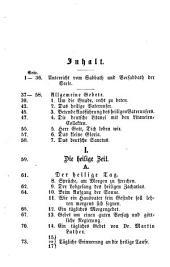 Hausbedarf christlicher Gebete für Augsburgische Confessionsverwandte: Voraus e. Unterricht vom Sabbath u. Vorsabbath d. Seele. Mit d. Bildn. u. Facs. d. Hrn. Verf. in Stahlst