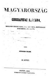 Magyarország geographiai szótára: Volume 2