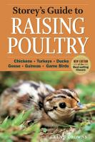 Storey s Guide to Raising Poultry  4th Edition PDF