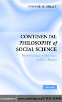 Continental Philosophy of Social Science PDF