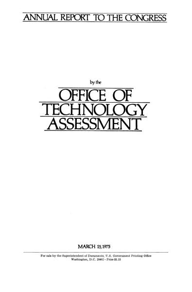 Annual Report to the Congress for     PDF