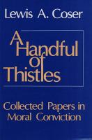 A Handful of Thistles PDF