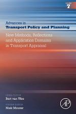 New Methods, Reflections and Application Domains in Transport Appraisal