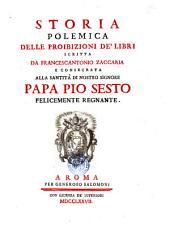 Storia polemica delle proibizioni de' libri