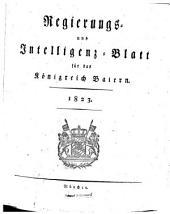 Regierungs- und Intelligenz-Blatt für das Königreich Baiern