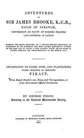 Adventures of Sir J. Brooke, Rajah of Sarawak