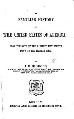 A Familiar History of the United States of America PDF
