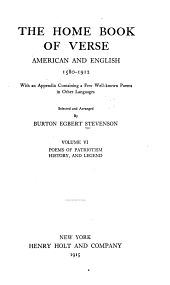 The Home Book of Verse, American and English, 1580-1912: Volume 6, Pages 2121-2726