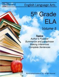 5th Grade English Language Arts Volume 5 Book PDF