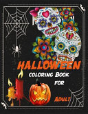 Halloween Coloring Book for Adult ( Witches ,Skull Theme )