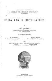 Early Man in South America
