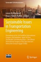 Sustainable Issues in Transportation Engineering PDF