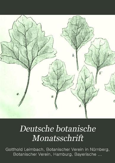 Deutsche botanische Monatsschrift PDF