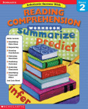 Scholastic Success with Reading Comprehension Grade 2  Work Book  Book