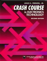 Crash Course in Electronics Technology PDF