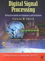 Digital Signal Processing  A Practical Guide for Engineers and Scientists PDF