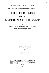 The Problem of a National Budget