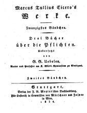 Werke: Drei Bücher über die Pflichten ; 2. Bd, Band 20