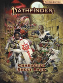 Pathfinder Character Sheet Pack Book