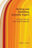 Writing and Publishing Scientific Papers PDF