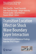 Transition Location Effect on Shock Wave Boundary Layer Interaction