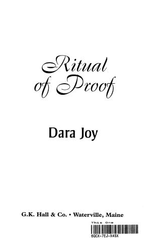 Ritual of Proof PDF