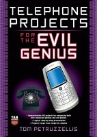 Telephone Projects for the Evil Genius PDF
