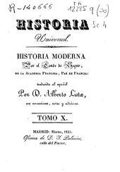 Historia moderna: Volumen 10