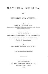 Materia Medica  for Physicians and Students PDF