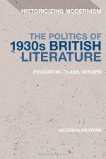 The Politics of 1930s British Literature
