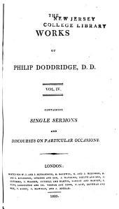 The works of Philip Doddridge: Volume 4