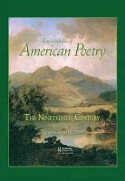 Encyclopedia of American Poetry  The Nineteenth Century PDF