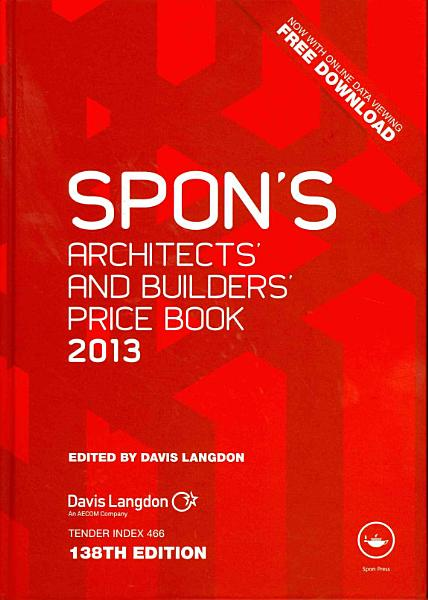 Spons Architects And Builders Price