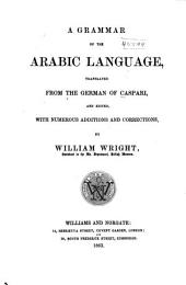 A Grammar of the Arabic Language: Volume 2