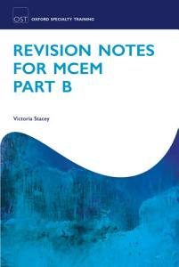 Revision Notes for MCEM PDF