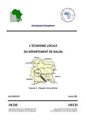 Écoloc, Gérer l'économie localement en Afrique : Evaluation et prospective L'économie locale du département de Daloa - Synthèse
